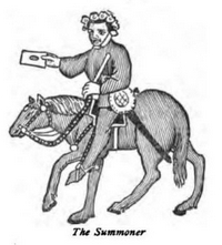 Canterbury Tales - The Summoner's tale